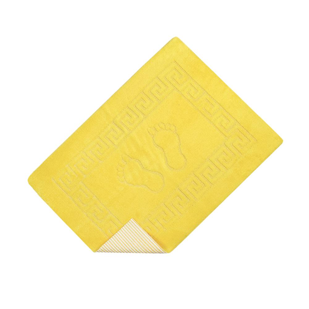 Коврик для ванной Lotus - 45*65 желтый