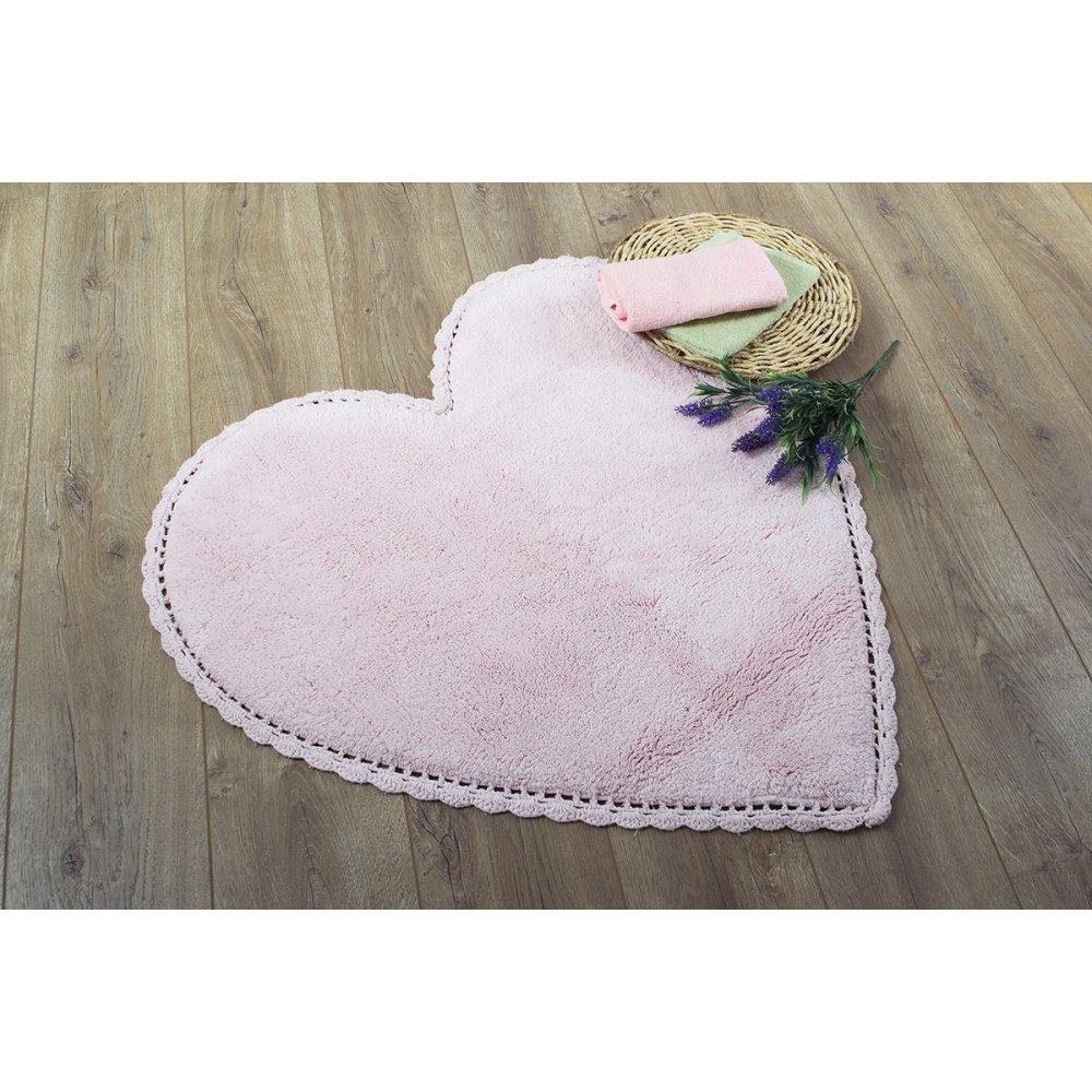 Коврик Irya - Amor pembe розовый 80*80