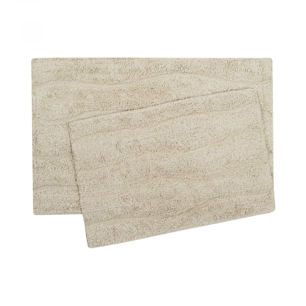Набор ковриков Shalla - Melba bej бежевый 40*60+50*80