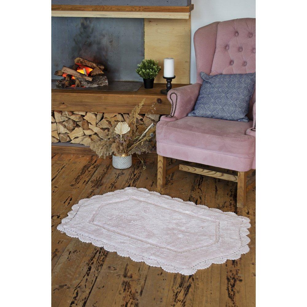 Коврик Irya - Hena pembe розовый 70*110