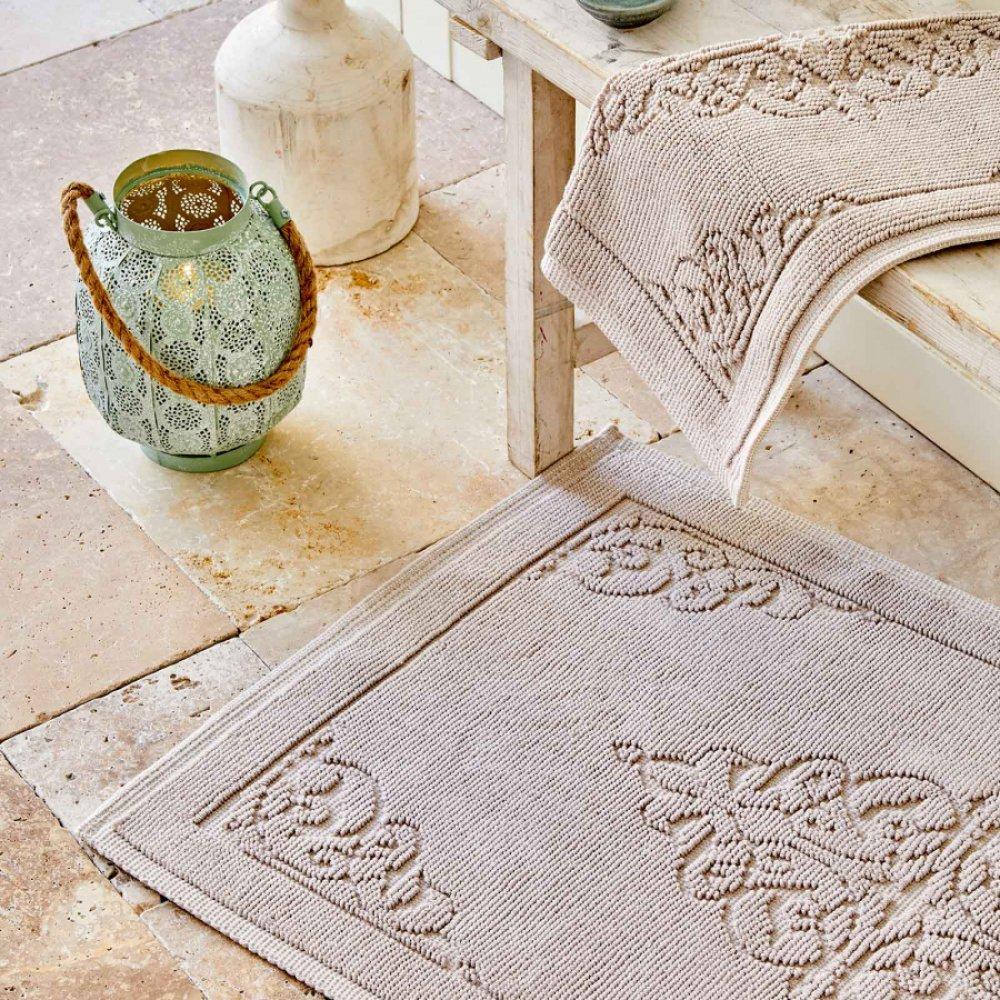 Набор ковриков Karaca Home - Milly krem кремовый 60*100+50*60