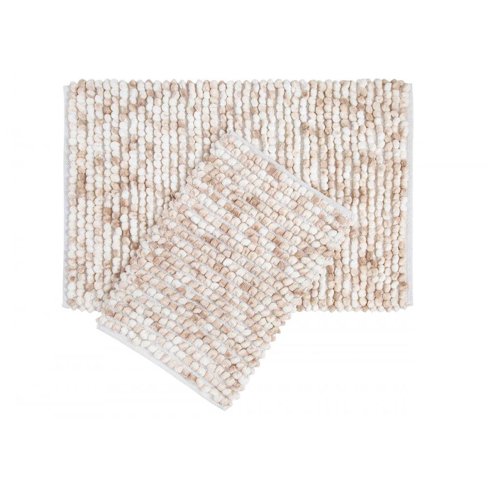 Набор ковриков Irya - Ottova beige бежевый 60*90+40*60