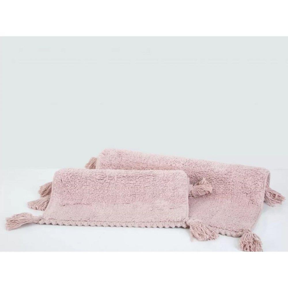 Набор ковриков Irya - Benny gul kurusu розовый 60*90+40*60
