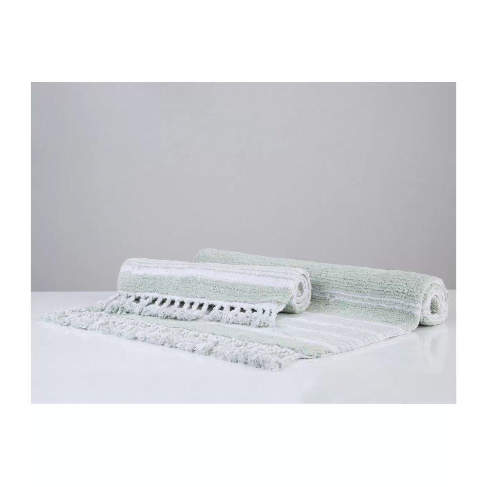 Набор ковриков Irya - Martil yesil зеленый 60*90+40*60