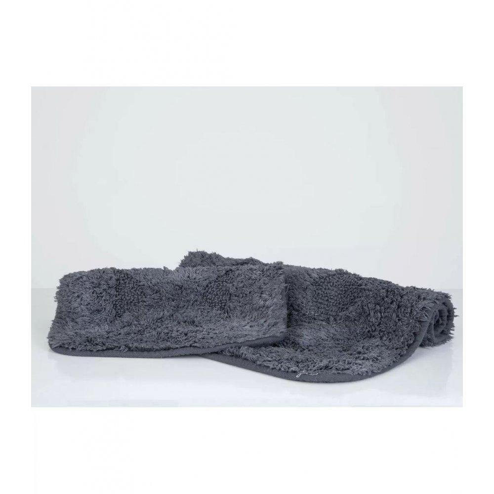 Набор ковриков Irya - Burns antrasit антрацит 60*90+40*60