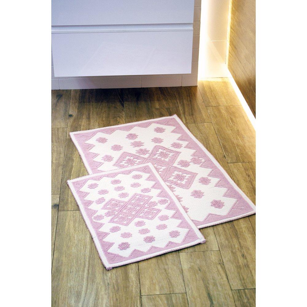 Набор ковриков Irya - Culina pudra пудра 60*90+40*60