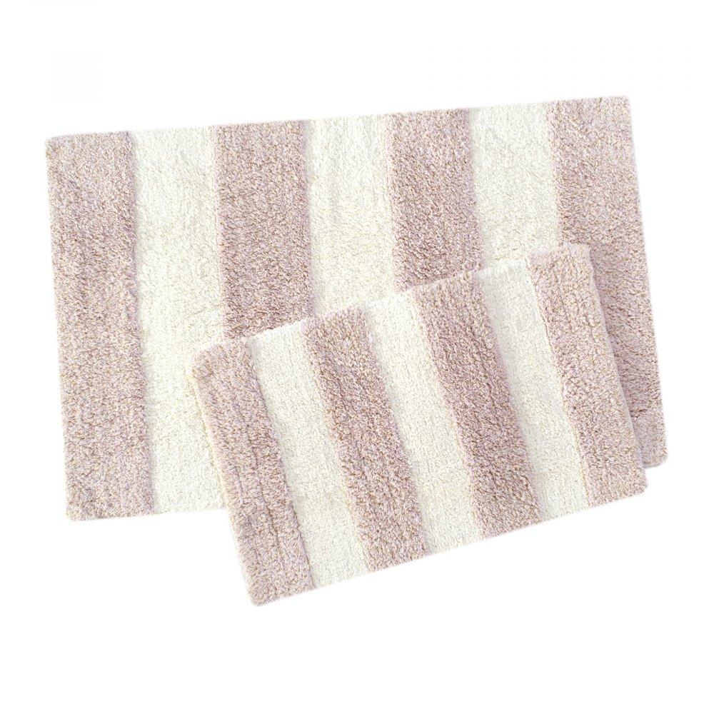 Набор ковриков Irya - Kate pembe розовый 60*90+40*60