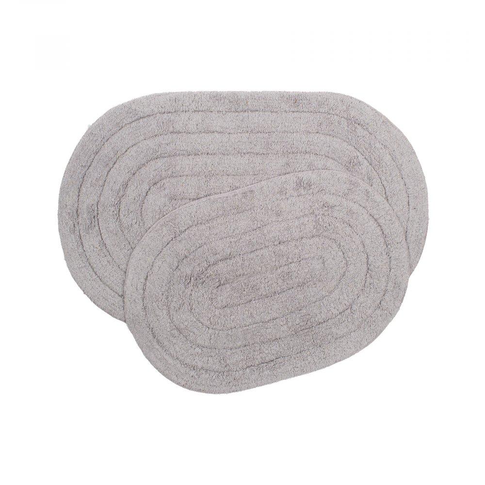 Набор ковриков Shalla - Edna lila лиловый 40*60+50*80