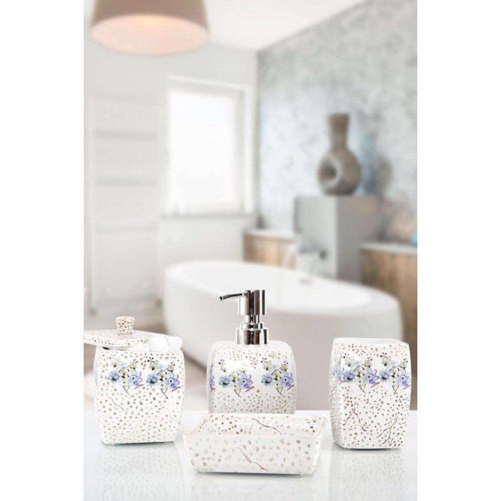 Комплект в ванную Irya - Alice (4 предмета)