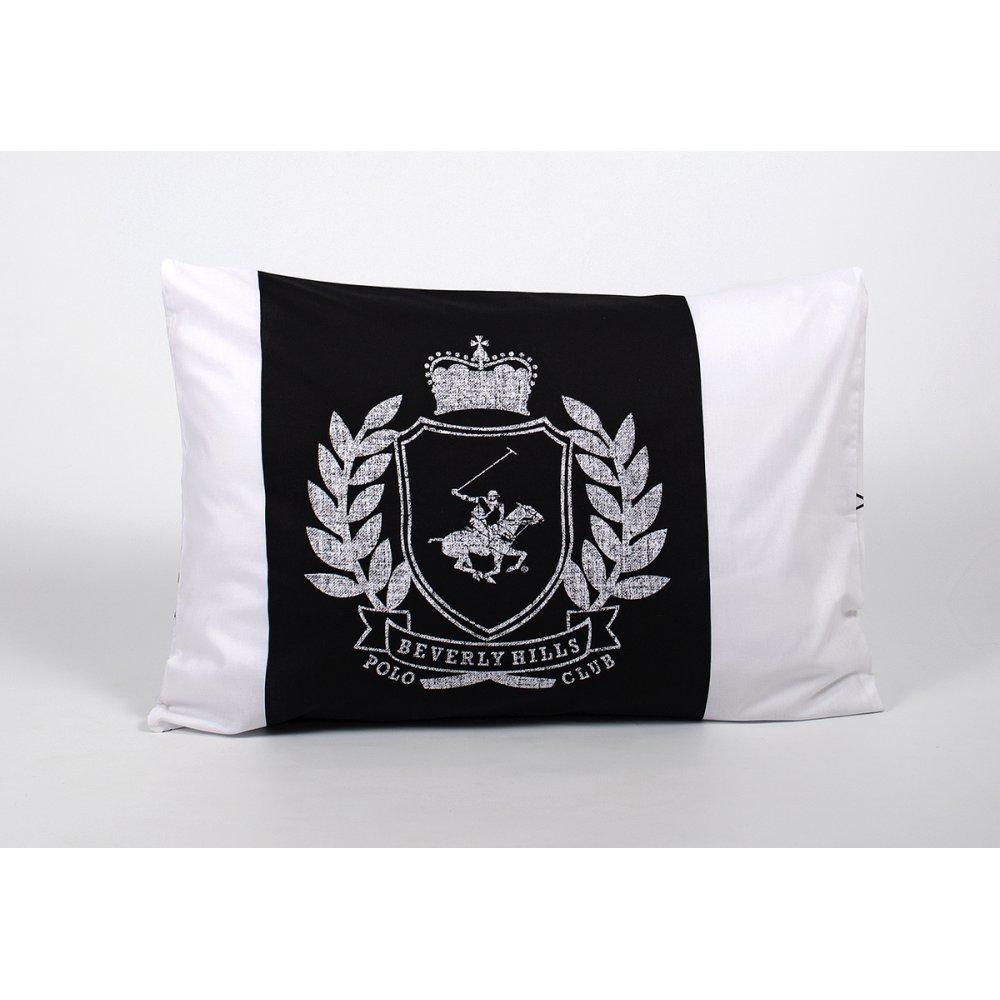 Наволочки Beverly Hills Polo Club - BHPC 028 Black 50*70 (2 шт)