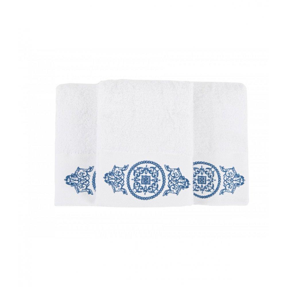 Набор полотенец Irya - Lara white белый 50*90 (2 шт)