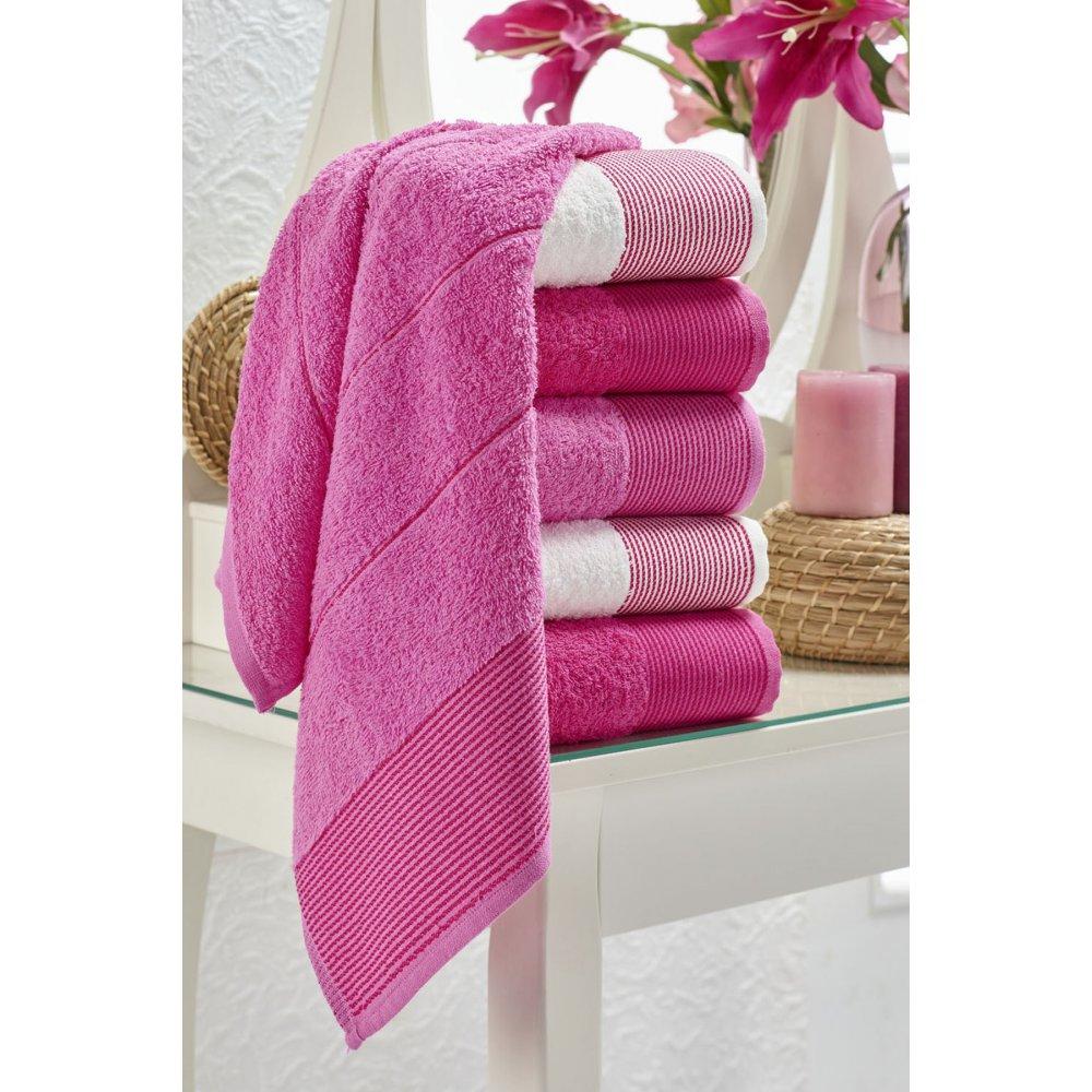 Набор полотенец Eponj Home - Vorteks 50*85 (6 шт) fitilli pembe розовый