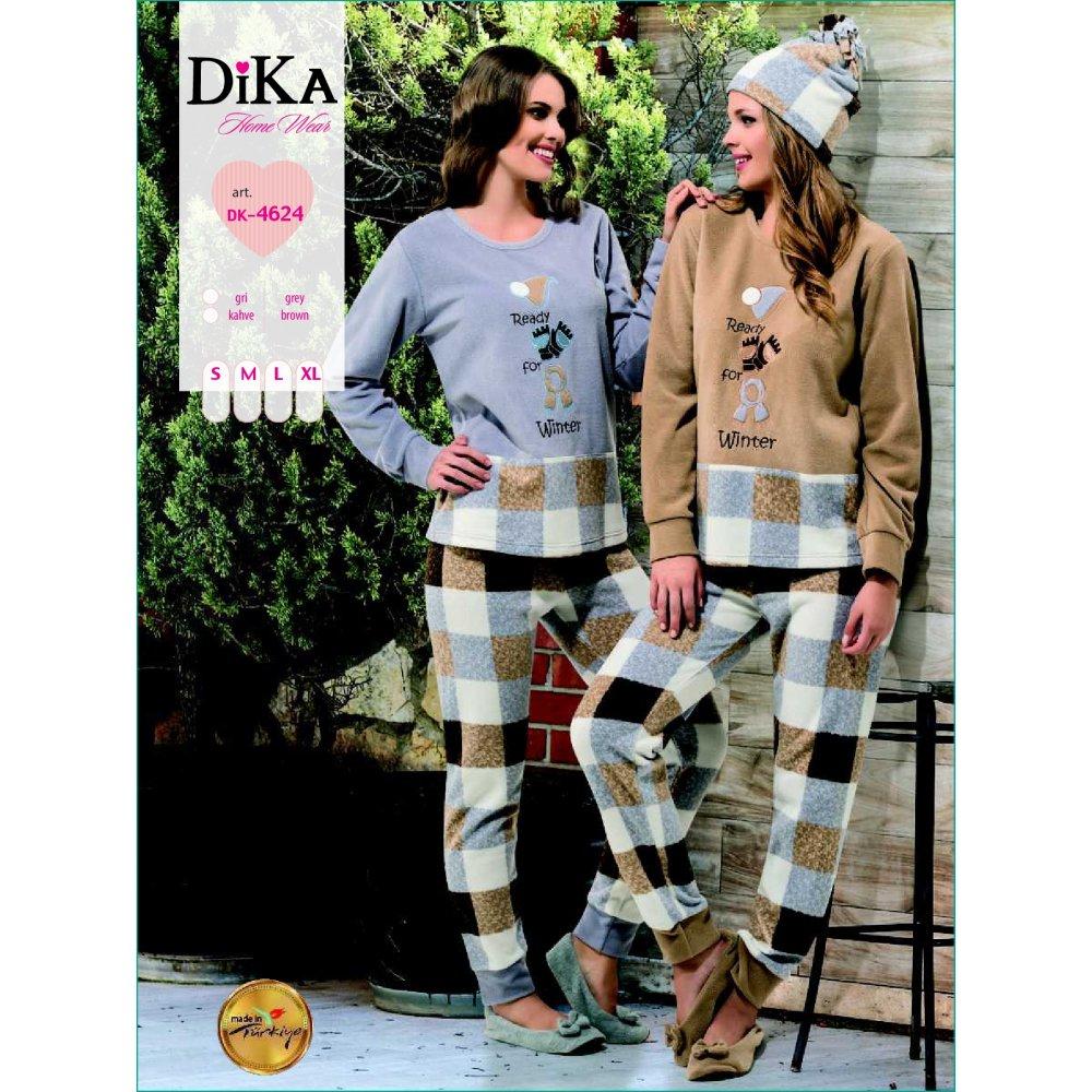 Домашняя одежда Dika - Пижама женская 4624 L бежевый