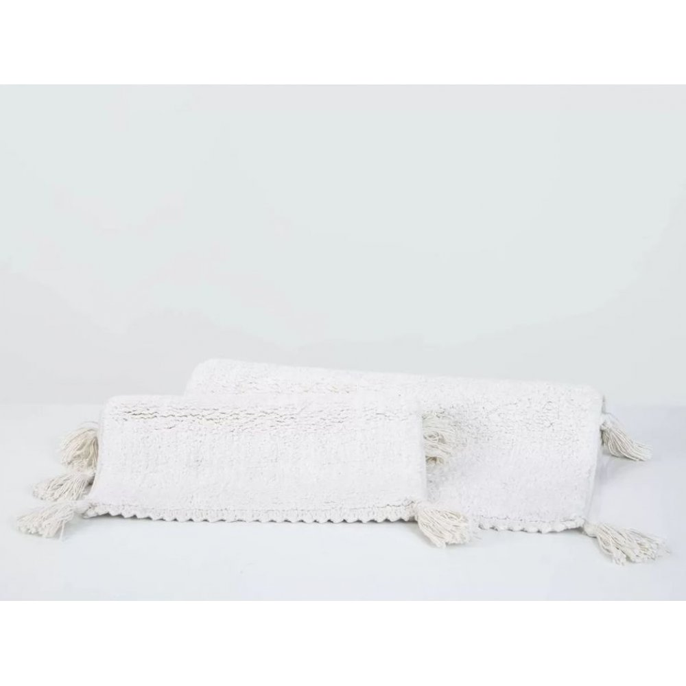 Набор ковриков Irya - Benny ekru молочный 60*90+40*60